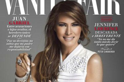 Melania Trump desata polémica en México por portada en revista Vanity Fair