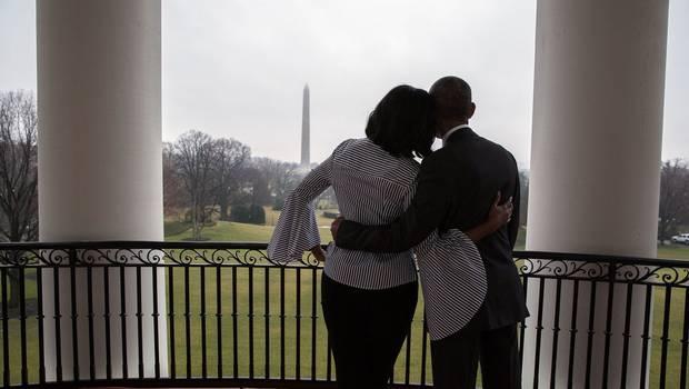 """""""VIDEO   La emotiva despedida de Michelle Obama de la Casa Blanca tras ocho años"""""""