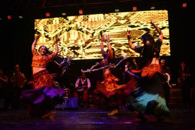 Teatro, danza y música marcaron la inauguración del Festival Internacional Santiago Off