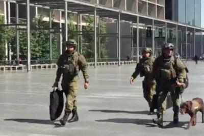 VIDEO| Así fue el ingreso del GOPE minutos antes de la formalización de Sergio Jadue