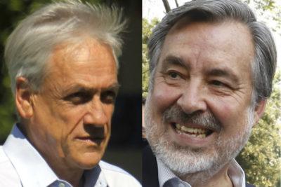 """""""Competencia de billeteras"""": La nueva polémica entre Piñera y Guillier"""