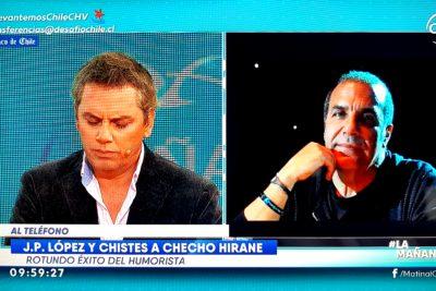 """A José Miguel Viñuela le cargó la rutina de Juan Pablo López contra los militares: """"Tenemos que avanzar"""""""