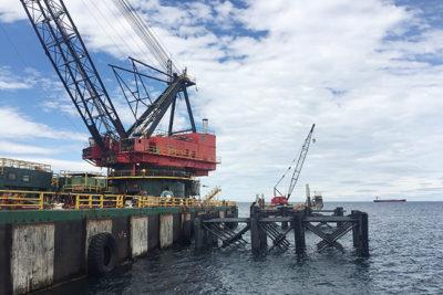 Invierten 13 millones de dólares para la ampliación del popular Muelle de Punta Arenas