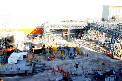 Avanza construcción de un nuevo rajo y Planta de Molibdeno en Minera Centinela