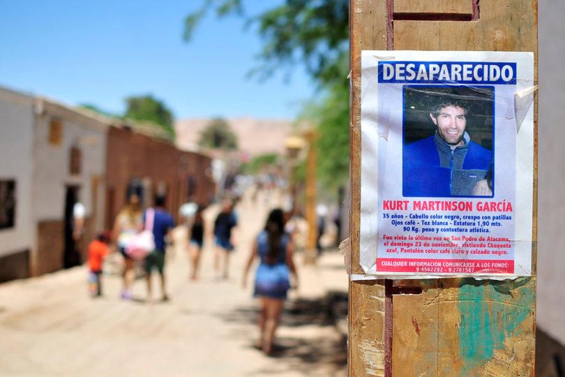 Fiscalía de Antofagasta archiva caso por desaparición de Kurt Martinson tras dos años de indagatorias