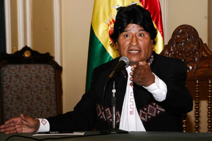 Gobierno responde a nueva arremetida tuitera de presidente boliviano Evo Morales