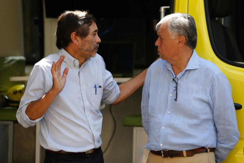 """Director de Conaf descarta su salida: """"Mi cargo depende del gobierno y no de brigadistas"""""""