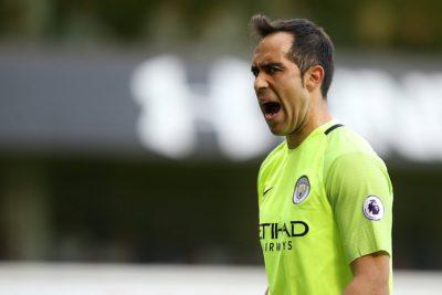 VIDEO |El gol que complicó el regreso de Claudio Bravo a la titularidad del Manchester City