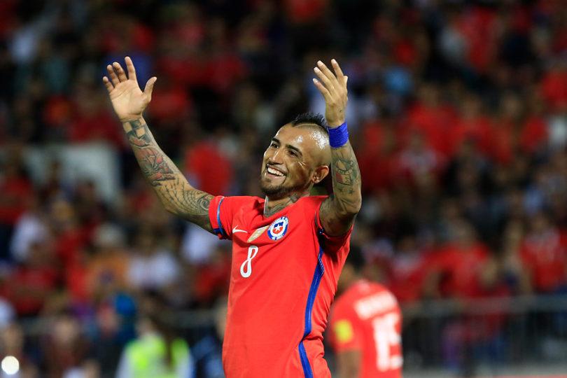 """FOTO   Arturo Vidal celebra sus 10 años en la Selección: """"Cada día tengo más ganas de defender a mi Roja contra todos"""""""