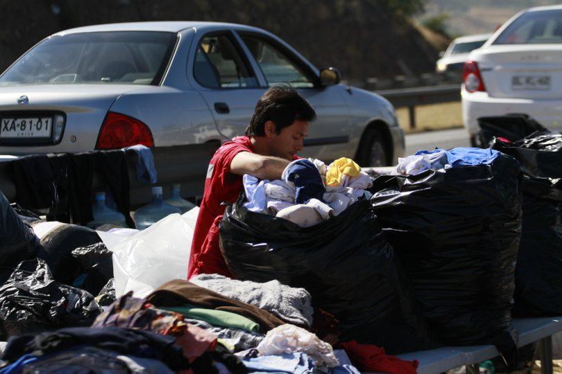 Roban ayuda que estaba lista para ser enviada desde Quillota a damnificados del sur