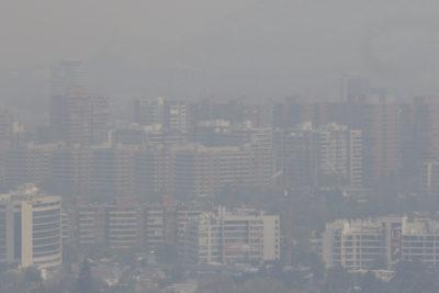 Decretan alerta ambiental en Santiago por cuarto día consecutivo