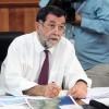 Reunion del subsecretario del interior y autoridades de Carabinero y PDI