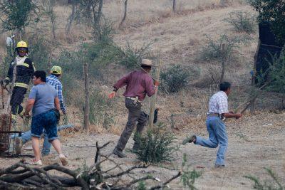 Incendio de Parral: alcaldesa cuestiona a Onemi, que corrige cantidad de casas quemadas de 40 a tan sólo 8