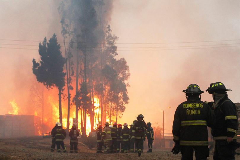 Intendente de la región del Maule asegura que los incendios de esa zona están bajo control