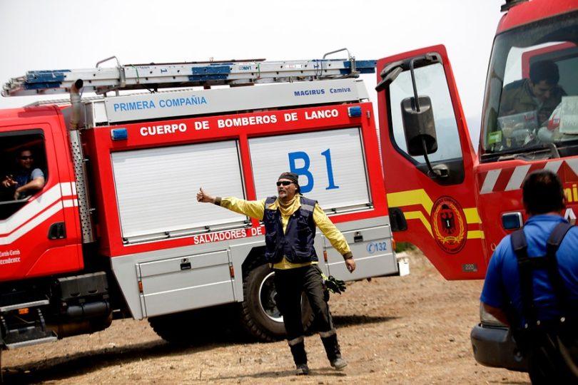 """Cuerpo Bomberos rechaza de manera categórica pasar a ser un servicio pagado: """"Somos voluntarios"""""""