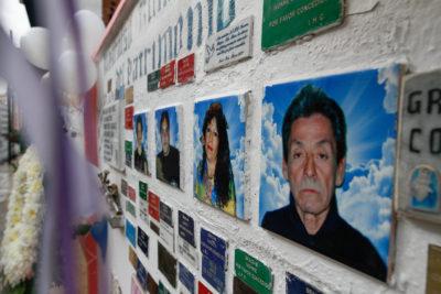 FOTOS   Conmemoran 10 años de la tragedia en calle Serrano, en Valparaíso