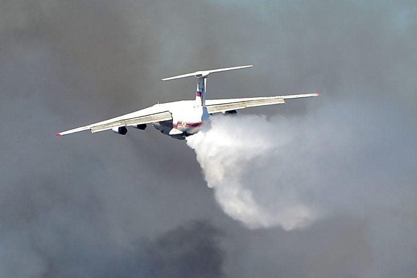 Conaf confirma que Ilyushin Il-76 terminará antes su misión en Chile por uso extremo