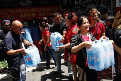 Empresarios chinos del Barrio Meiggs donan 50 toneladas de ayuda a damnificados por incendios forestales