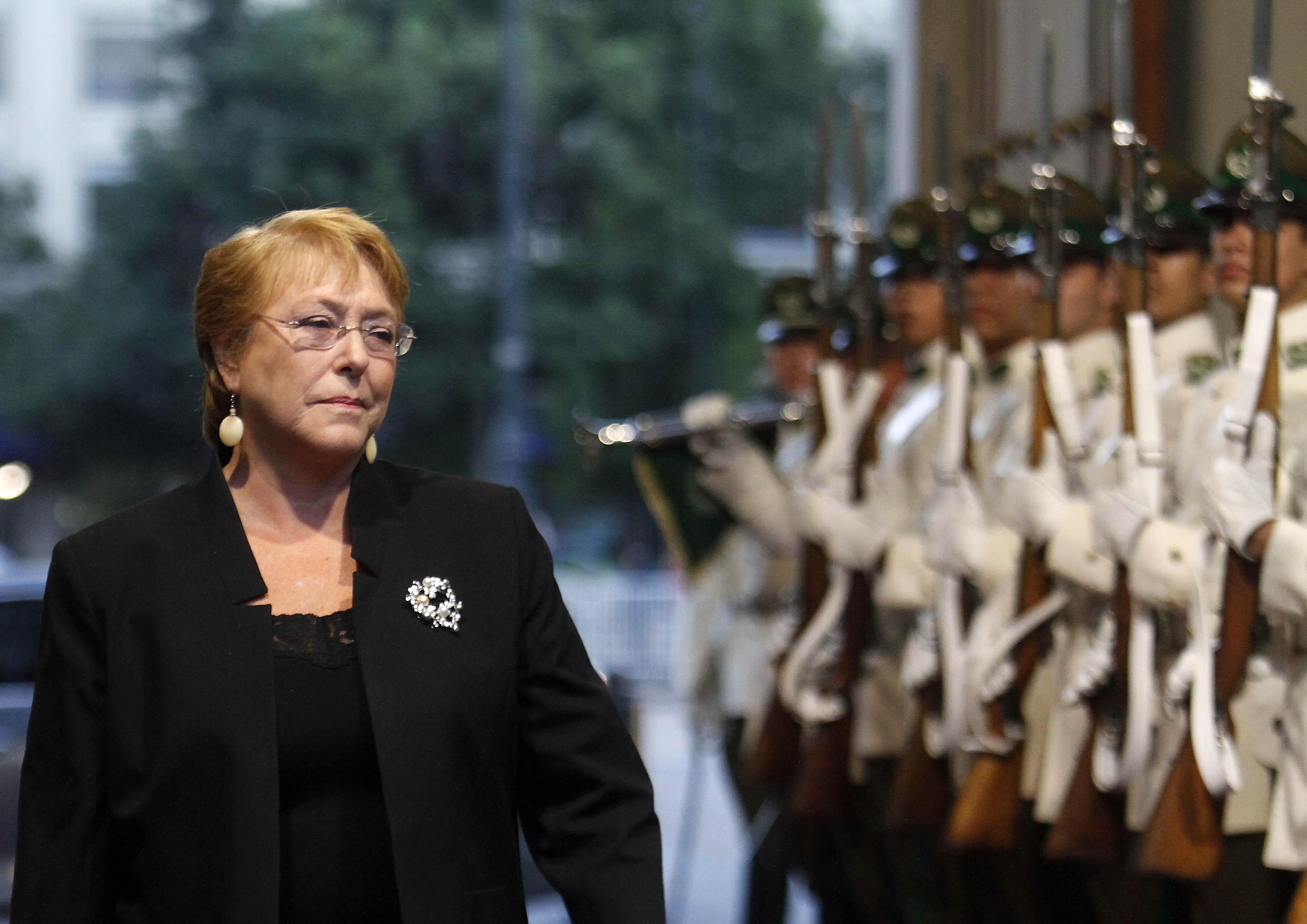 """Bachelet por aluviones: """"Las naturaleza parece no darle tregua a nuestro país"""""""