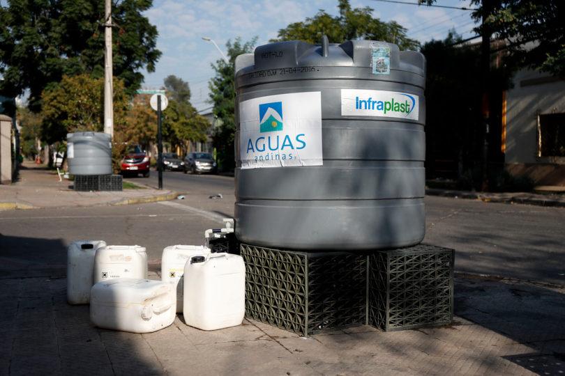 Aguas Andinas: más del 90% de los afectados por corte ya cuentan con servicio