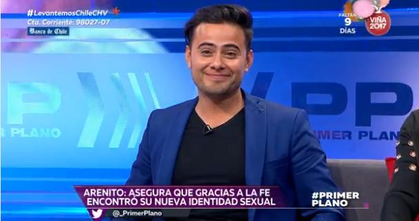 """""""Conversión"""" de Arenito y sus declaraciones homofóbicas reciben decenas de denuncias en el CNTV"""