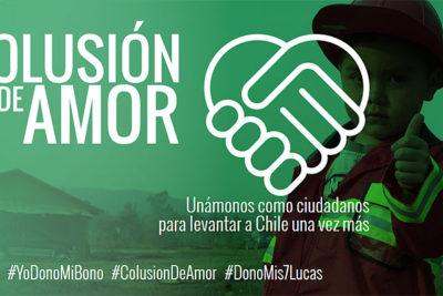 """""""Colusión de Amor"""": parte campaña para donar los $7 mil de indemnización de la colusión a damnificados"""