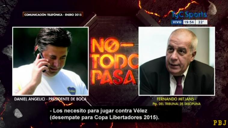 ¿Y cómo afecta esto a Boca? Audios revelan que presidente del club pidió favores arbitrales