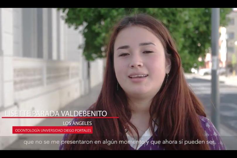 VIDEO   Emotivo testimonio de Lisette Parada, una de las 94 mil beneficiados con la gratuidad