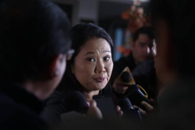 Fiscal inicia investigación contra Keiko Fujimori por posible lavado de activos