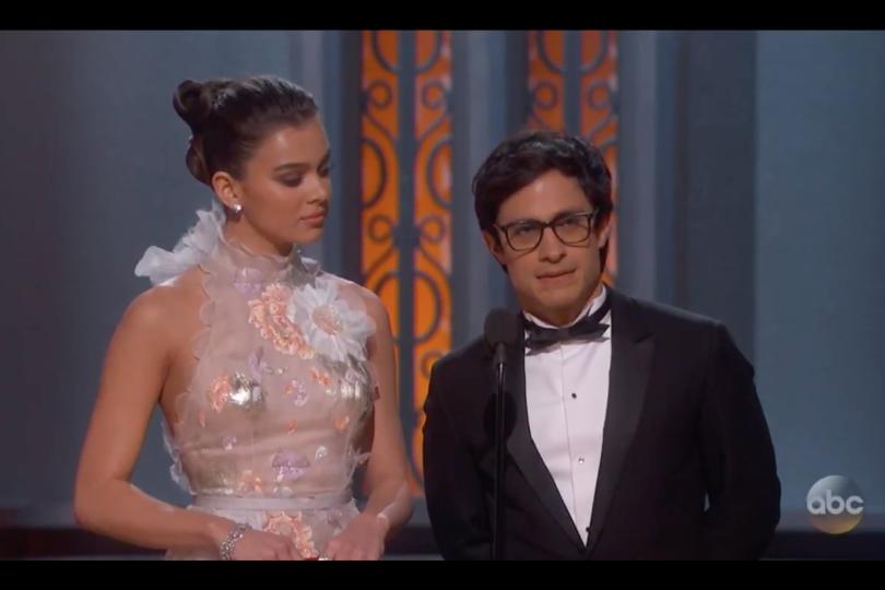 Video del momento:este es el discurso anti Trump que lanzó Gael García Bernal durante los Oscar 2017