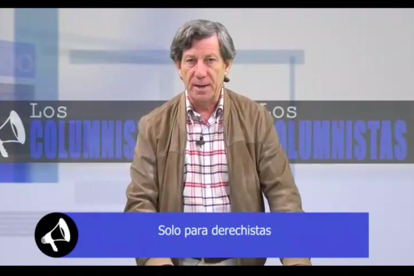 """VIDEO   Gonzalo Rojas hace clase electoral a """"derechistas"""" y pide no actuar como """"socialistas inadvertidos"""""""