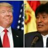Donald Trump Evo Morales
