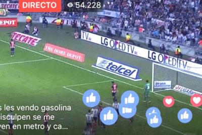 Partidos de fútbol por Facebook Live: cómo opera la nueva pesadilla de la gran industria de tv deportiva