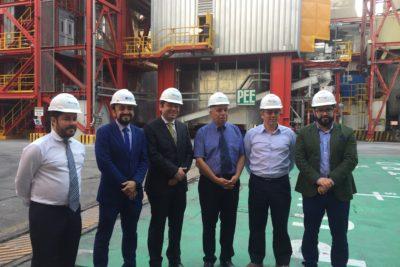 Central de AES Gener reduce en un 90% emisiones de su termoeléctrica ubicada en Tocopilla