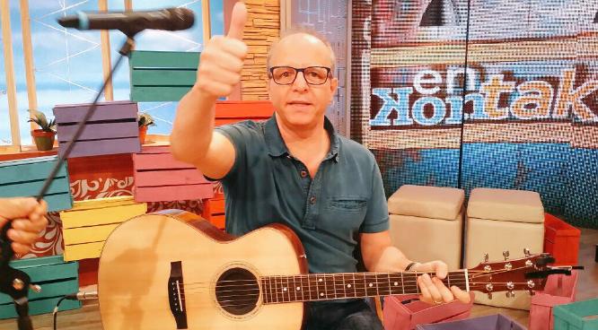 """Alberto Plaza y utilización de su canción en rutina de Copano: """"Me tienen que pagar derechos de autor, jaja"""""""