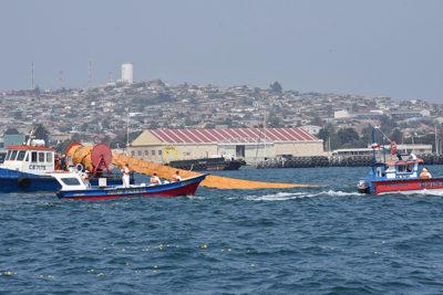 Pescadores artesanales realizan exitoso simulacro en Bahía de Quintero