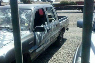 FOTOS | Camioneta de sujeto sufrió la furia de su ex pareja en San Valentín