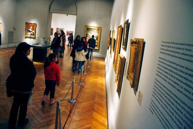 Artista José Pedro Godoy sufrió el robo de una de sus obras desde el Museo de Bellas Artes