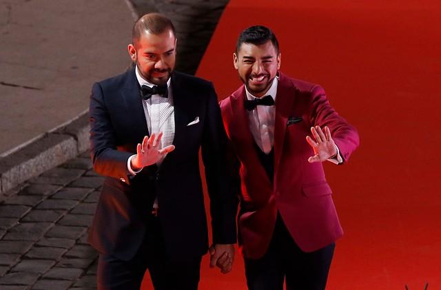 """Caniulef presentó a su novio en Gala de Viña 2017: """"Es un gesto de amor"""""""
