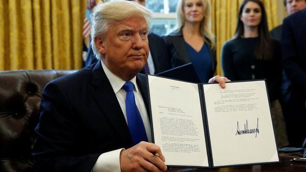 No se rinde: Donald Trump presentará una nueva versión de su cuestionado veto migratorio