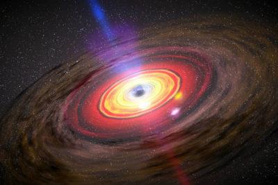 Astrónomos chilenos logran simular agujeros negros al interior de un laboratorio