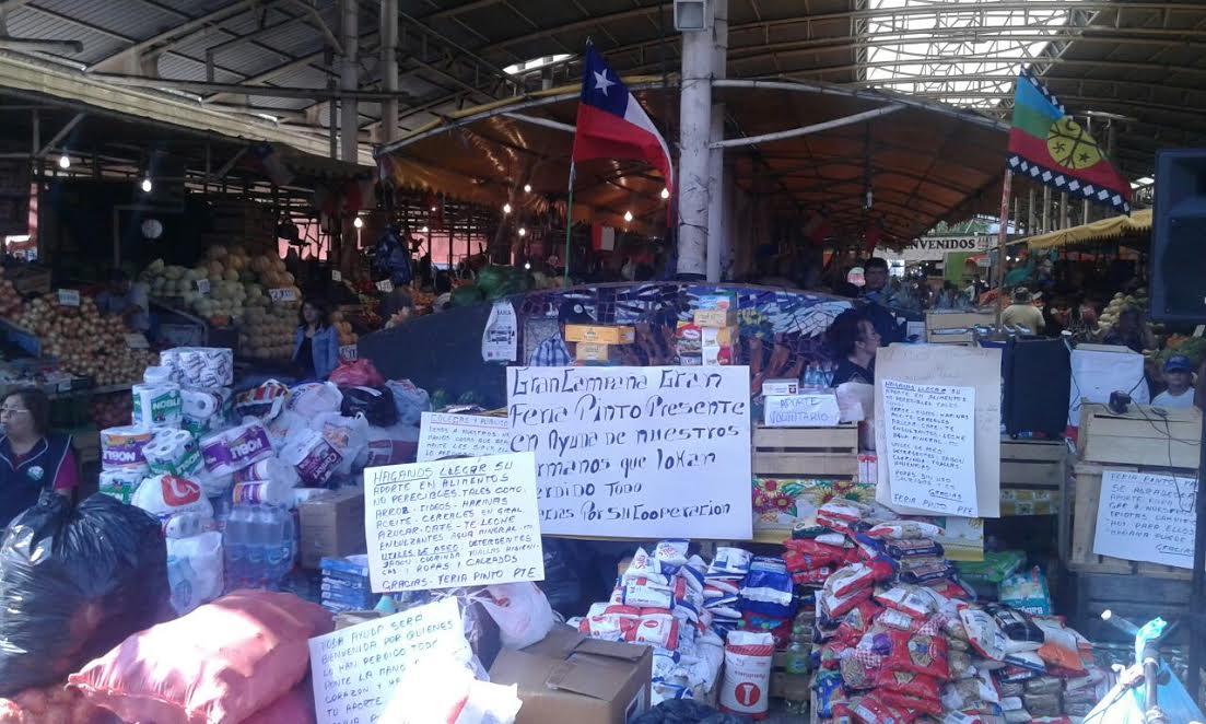 Fardos de forraje, alimento y agua: el pueblo mapuche se organiza para ayudar a damnificados