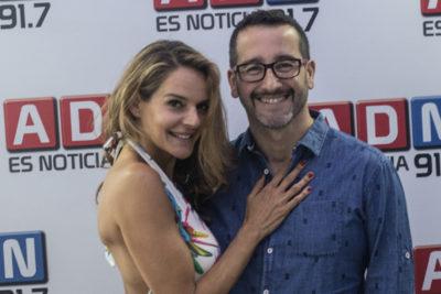 Pocas veces visto: Eduardo Fuentes funa olímpicamente a acosador de su colega en ADN, Andrea Hoffman