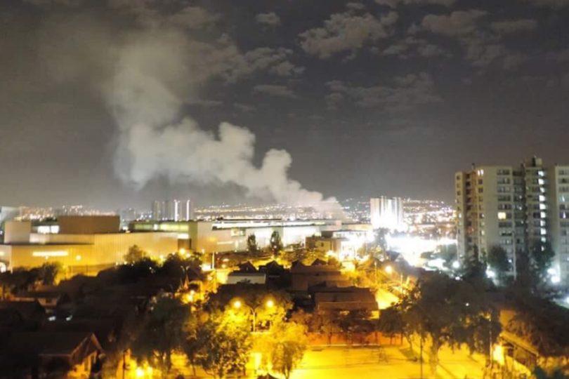 FOTOS | Incendio en Hospital de La Florida obliga evacuación de casi 250 personas
