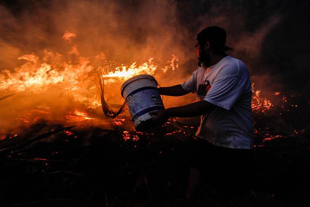 """Onemi por incendios: """"La gran emergencia ya está controlada"""""""