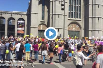 VIDEOS | #JusticiaParaAntonia: La marcha que pide justicia en casos de violencia en el pololeo
