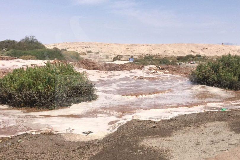 FOTOS + VIDEOS  Desborde el río Loa provoca inundaciones y daños en Calama