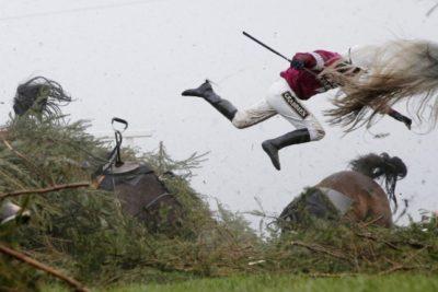 Ganador del World Press Photo Deportes vigiló 25 años una valla para obtener esta imagen