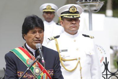 Evo Morales se matricula como fan de Maná y agradece que pidieran mar para Bolivia