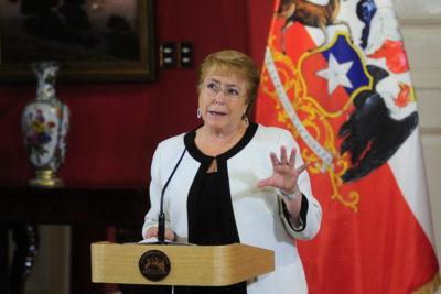 Justicia admite recurso contra Presidenta Bachelet por indultos a reos de Punta Peuco